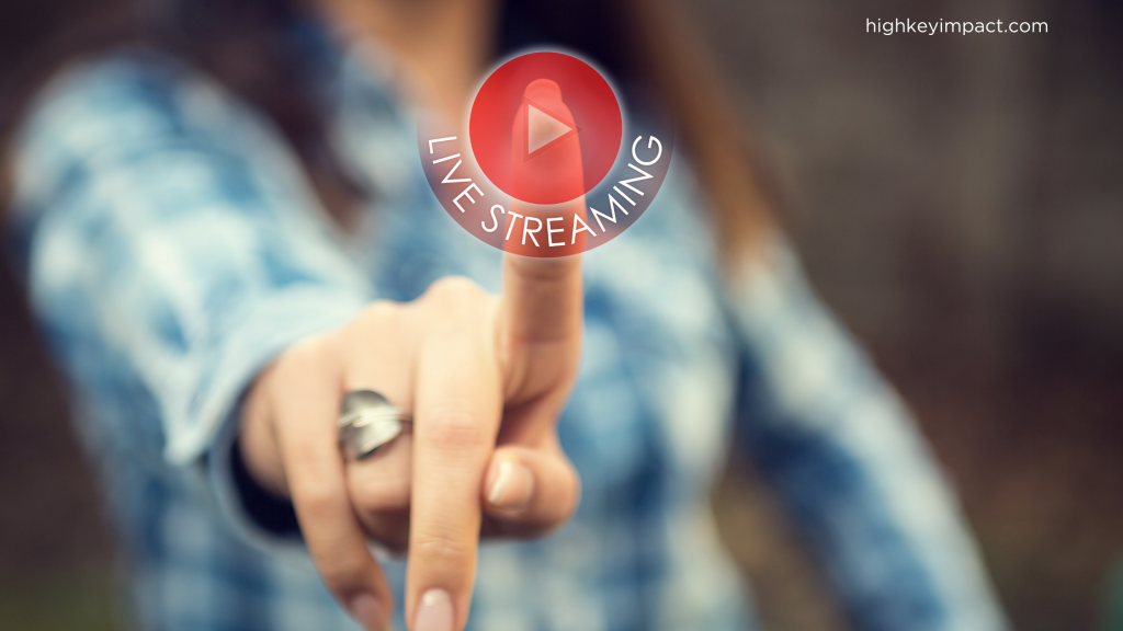 live video marketing oomph