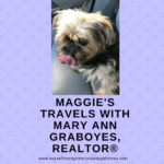 Maggie helps Mary Ann Graboyes, Realtor®