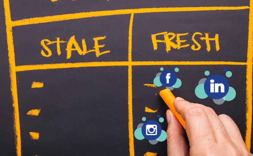 fresh content social media