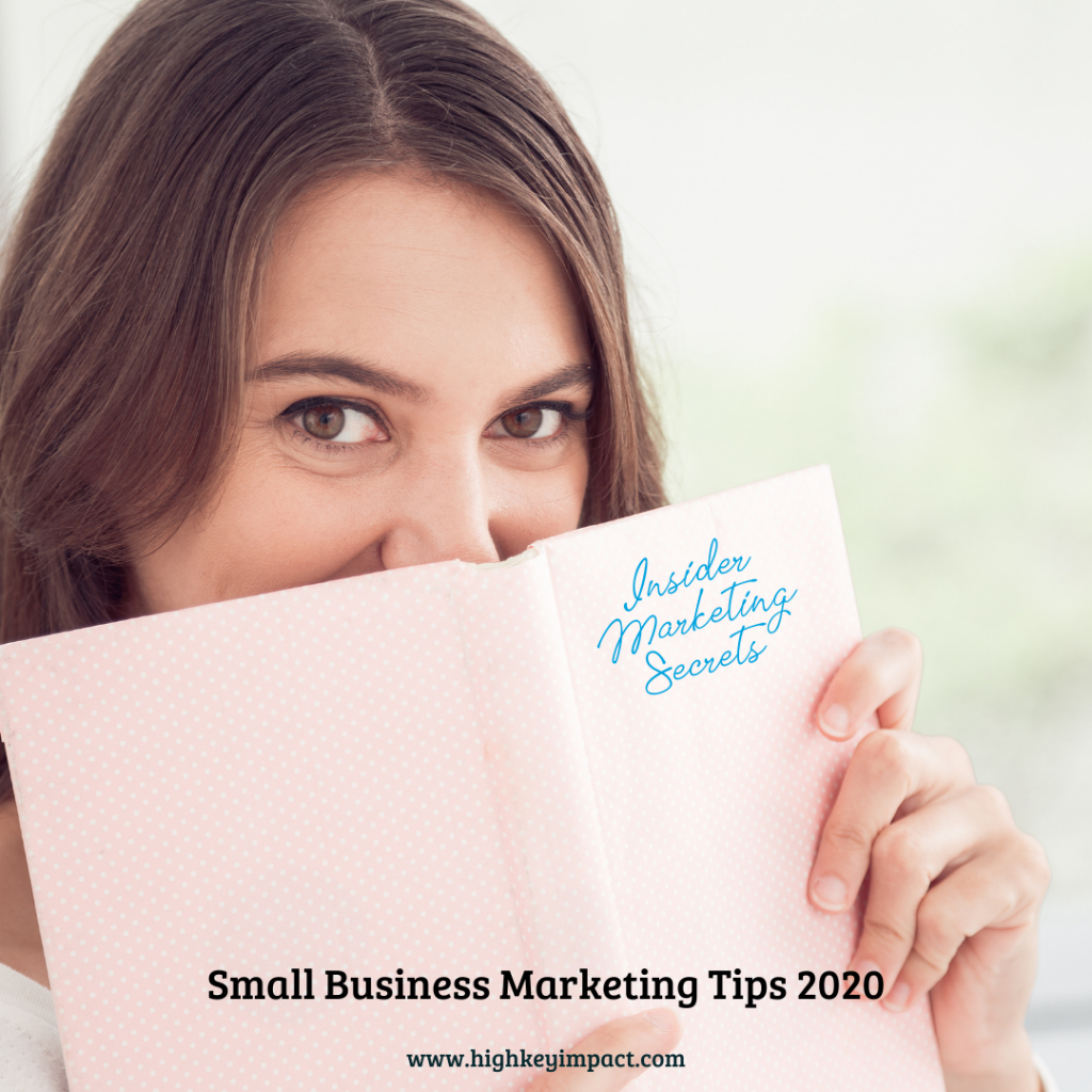 small business marketing tips 2020